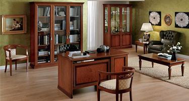 Camel Group Nostalgia Walnut Italian Home Office