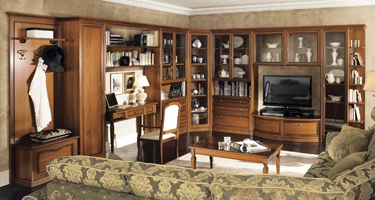 Camel Group Nostalgia Walnut Italian Living Room