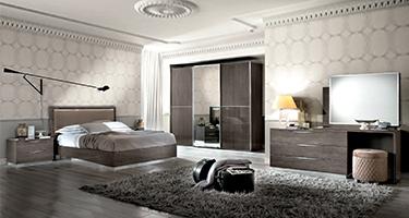 Camel Group Platinum Silver Birch Bedroom