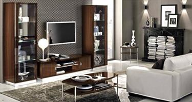 Camel Group Roma Walnut High Gloss Living Room