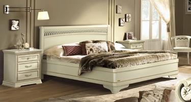 Camel Group Torriani Ivory Finish Italian Bedroom