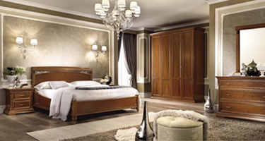 Camel Group Treviso Cherry Finish Italian Bedroom