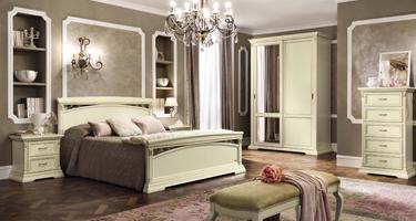Camel Group Treviso White Ash Finish Italian Bedroom
