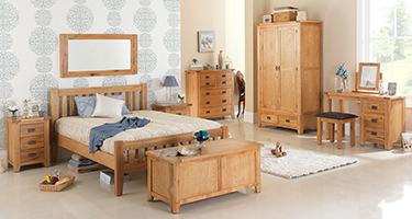 Heritance Cherboux Oak Bedroom