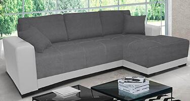 Seema Fabric and Leather Sofas