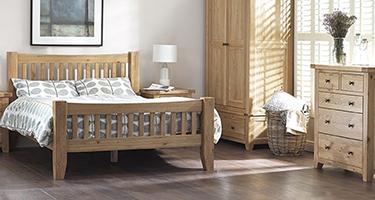 Classic Furniture Colorado Oak Bedroom