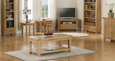Classic Furniture Colorado Oak Living Room