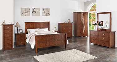 Classic Furniture Driftwood Bedroom