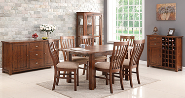 Classic Furniture Driftwood Dining Room