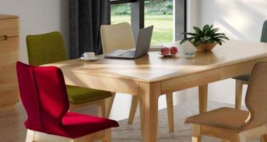 Classic Furniture Forma Oak Dining Room