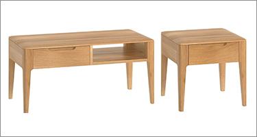 Classic Furniture Forma Oak Living Room