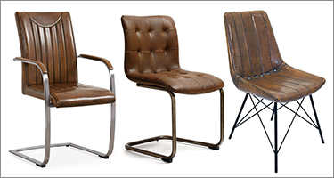 Classic Furniture Industrial Dining Chairs