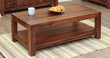 Coffee Table With Shelves