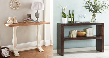 Console Table Without Storage