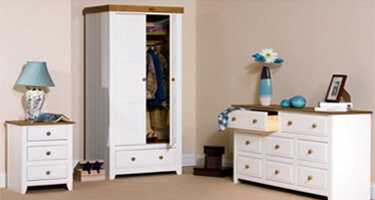 Core Products Capri Pine Bedroom