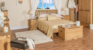 Core Products Corona Rustic Pine Bedroom