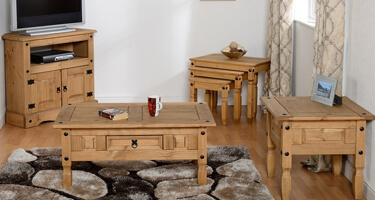 Core Products Corona Rustic Pine Living Room