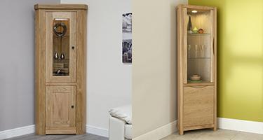 Corner Display Cabinets