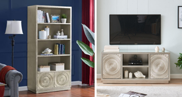 Derrys Furniture Frenso Silver Living Room