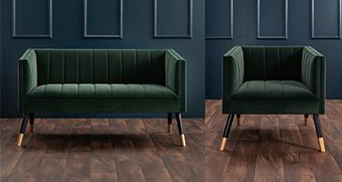 Derrys Furniture Jackson Green Sofas