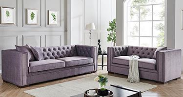 Derrys Furniture Montreal Slate Grey Sofas
