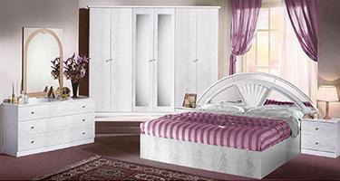 Dima Mobili Akira White Bedroom