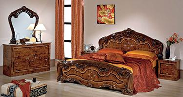Dima Mobili Carmen Walnut Bedroom