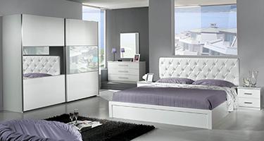 Dima Mobili Eva White Bedroom