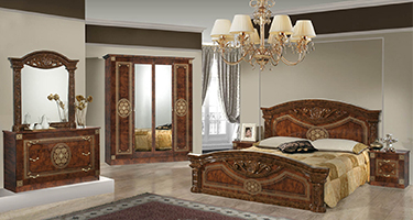 Dima Mobili Kate Walnut Bedroom
