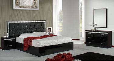 Dima Mobili Linda Black Bedroom