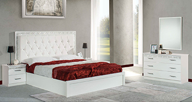 Dima Mobili Linda White Bedroom