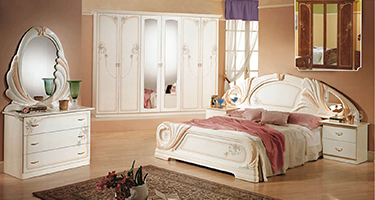 Dima Mobili Lory White Bedroom