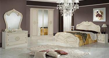 Dima Mobili Lucy Beige Bedroom