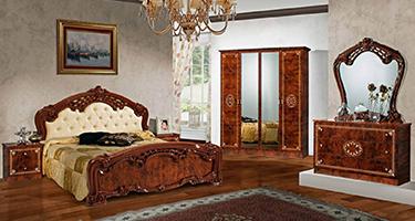 Dima Mobili Lucy Walnut Bedroom