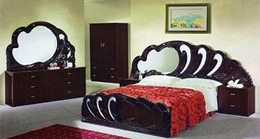 Dima Mobili Paola Mahogany Bedroom