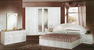 Dima Mobili Salwa White Bedroom