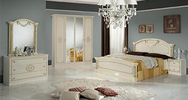 Dima Mobili Vera Beige Bedroom