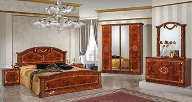 Dima Mobili Vera Walnut Bedroom