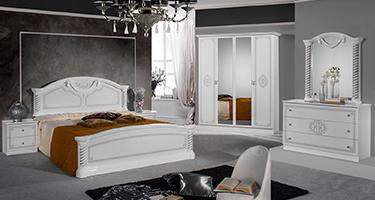 Dima Mobili Vera White Bedroom