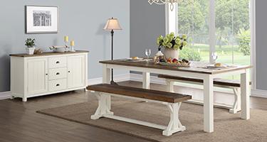Besp Oak Driftwood Dining Room