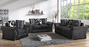 Rita Fabric and Leather Sofas