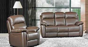 Furniture Line Ashton Brown Leather Sofas