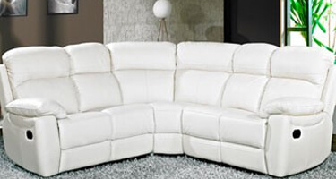 Furniture Line Ashton Ivory Leather Sofas