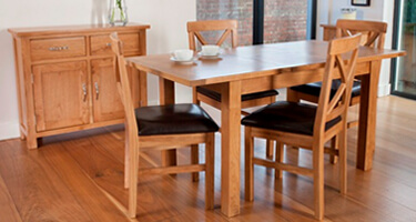 Furniture Line New York Oak Dining Room