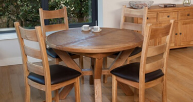 Furniture Line Selsbury Oak Dining Room