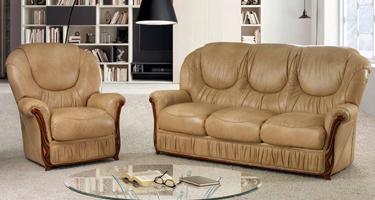 G & G Italia Caronte Leather Sofas