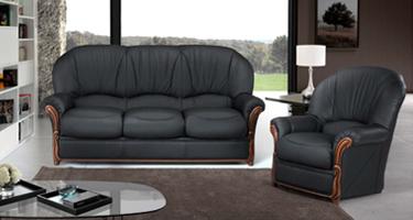 G & G Italia Cora Leather Sofas
