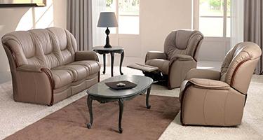 G & G Italia Doroty Leather Sofas