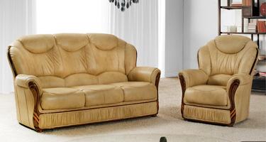 G & G Italia Londra Leather Sofas