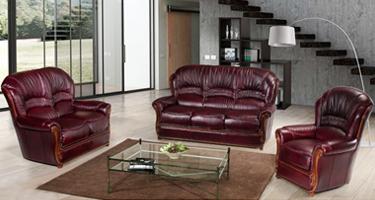 G & G Italia Sara Leather Sofas
